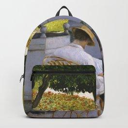 "Gustave Caillebotte ""The Orange Trees"" Backpack"