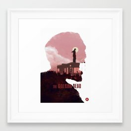 The Walking Dead - Season 1 Framed Art Print