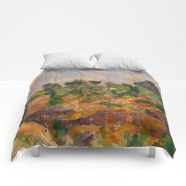 """Paul Cezanne """"Bibémus"""" Comforters"""