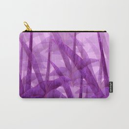Violet Garden Succulent Plants On A Pink Background #decor #society6 #homedecor Carry-All Pouch