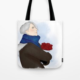 victor with roses - yuri on ice Tote Bag
