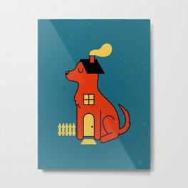 DogHouse Metal Print