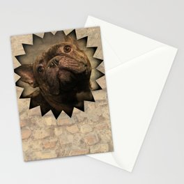 bully on the wall Stationery Cards