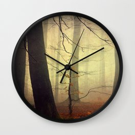 Forest Glow Wall Clock