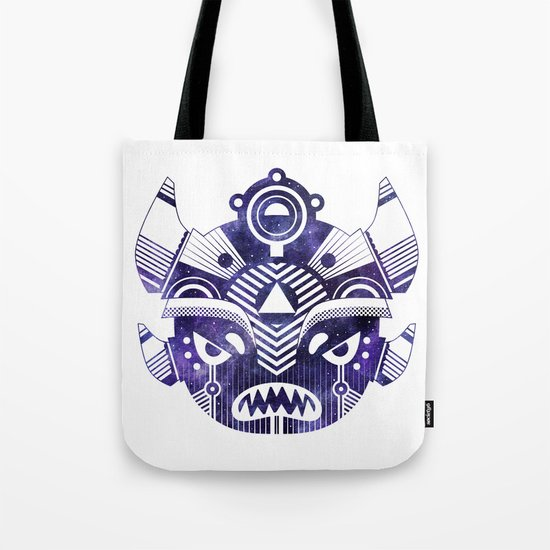 Space Demon Tote Bag