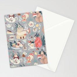 Tea Spirit pattern Stationery Cards