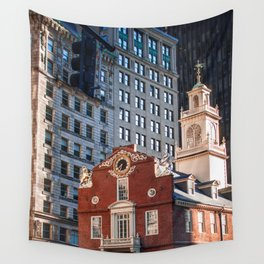 A Golden Day - Boston Old State House Wall Tapestry
