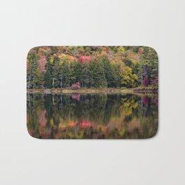 trees reflecting Bath Mat