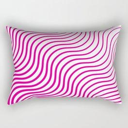 Whiskers Pink #835 Rectangular Pillow