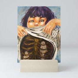 Heart all a'flutter Mini Art Print