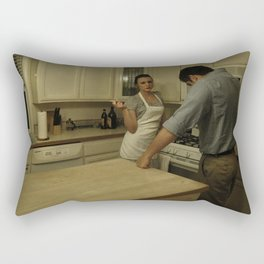 Table for 2 Rectangular Pillow