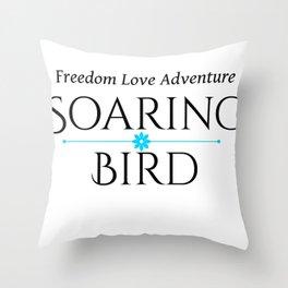 Soaring Bird Throw Pillow