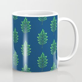 Patterns in Nature - Leaf Fractal Coffee Mug