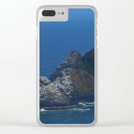 Heceta Head Lighthouse Clear iPhone Case