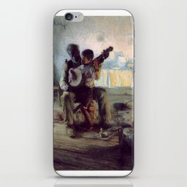 The Banjo Lesson by Henry Ossawa Tanner iPhone Skin