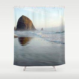 cannon beach II Shower Curtain