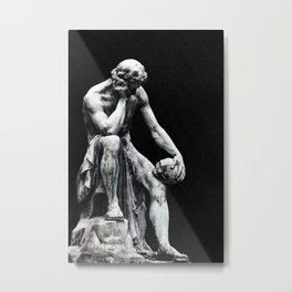 To be or not to be ? Metal Print