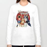 mononoke Long Sleeve T-shirts featuring Mononoke Time by RebelArtCollective
