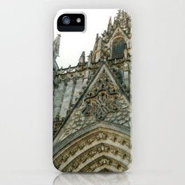 Cathedral of the Holy Cross and Saint Eulalia in Barcelona, Spain iPhone Case