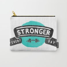 Stronger Every Day (dumbbell) Carry-All Pouch