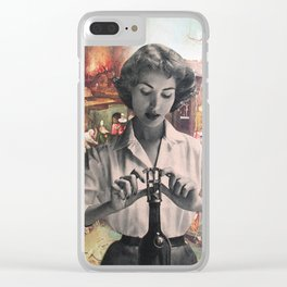 On the Odd Occasion Clear iPhone Case