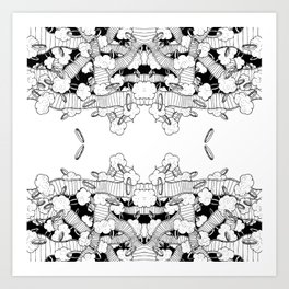 Rings 5 Art Print