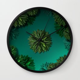 """Caribbean Peppermint"" Wall Clock"