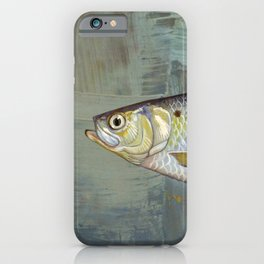 Fish on Canvas iPhone Case