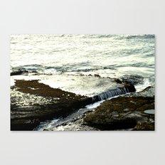 Lava Shelf Canvas Print