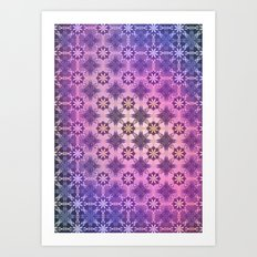 TEXTURE POP - Psychedelic | Mixed Colour | Pop | Abstract | Vector | Retro | Vintage Art Print