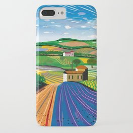 Lavender Farm iPhone Case