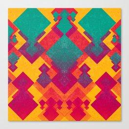 Diamond Vibrancy Canvas Print