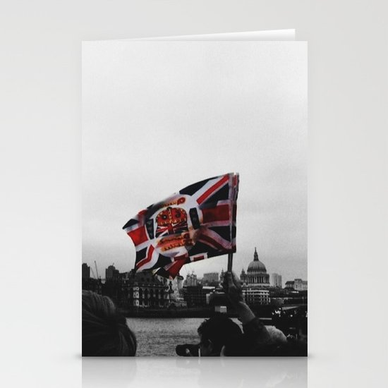 Jubilee Flag Stationery Cards
