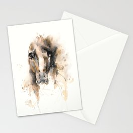 Respect: Portrait of a horse. Stationery Cards