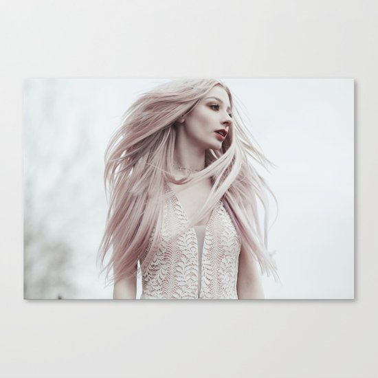 Pastel wind Canvas Print