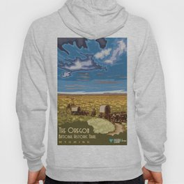 Vintage poster - The Oregon Trail Hoody