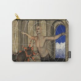 Spiders Web Carry-All Pouch