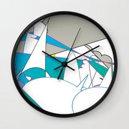 Color #7 Wall Clock