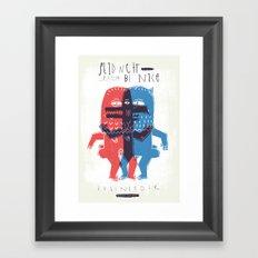 Zeter & Mordio Framed Art Print