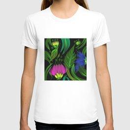 Floral,tropical design T-shirt