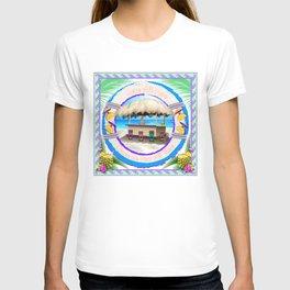 Happy Place Tiki Beach Bar T-shirt