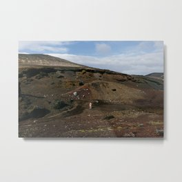 Valley (Iceland) Metal Print