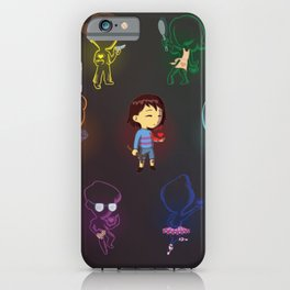 Undertale Souls iPhone Case