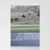 scotland Stationery Cards featuring Edinburgh Scotland by Sanchez Grande