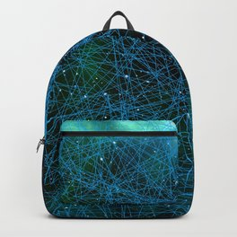 System Network Connection Backpack