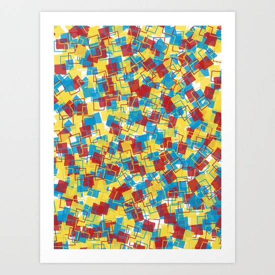Don't be a Square Art Print