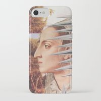 iron maiden iPhone & iPod Cases featuring Laura The Iron Maiden by MELANCHOLIE (mit MONSTERN)