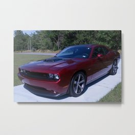100th Anniversary Challenger with rare shaker hood Metal Print