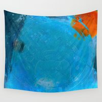 earth Wall Tapestries featuring Earth by Fernando Vieira