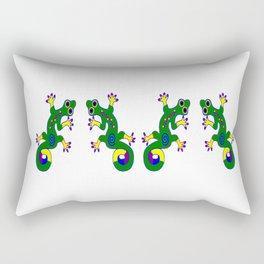 Tribal Geckos Rectangular Pillow